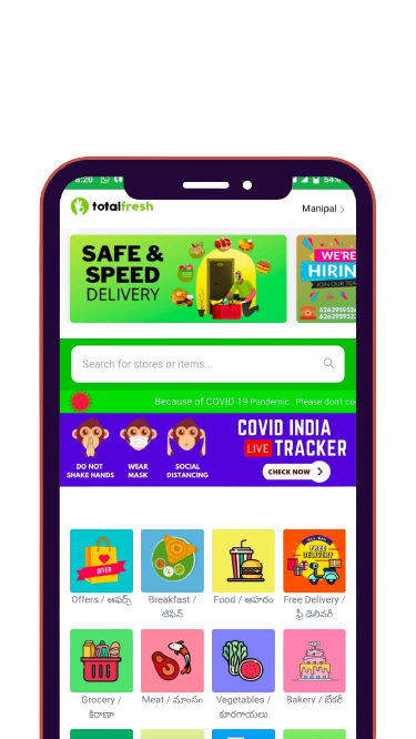 Hyperlocal Delivery App For Your Daily Needs